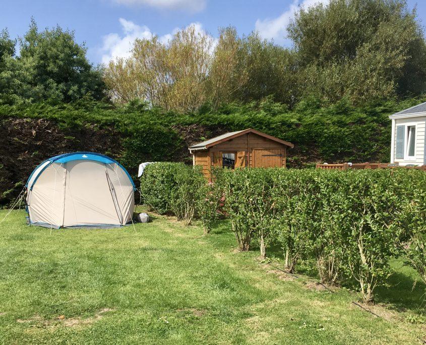 camping Domaine de Laneros tente