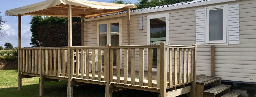 camping Domaine de Laneros mobil home